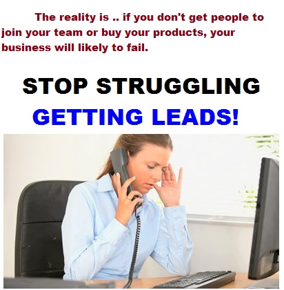 MLM Network Marketing Leads for Free