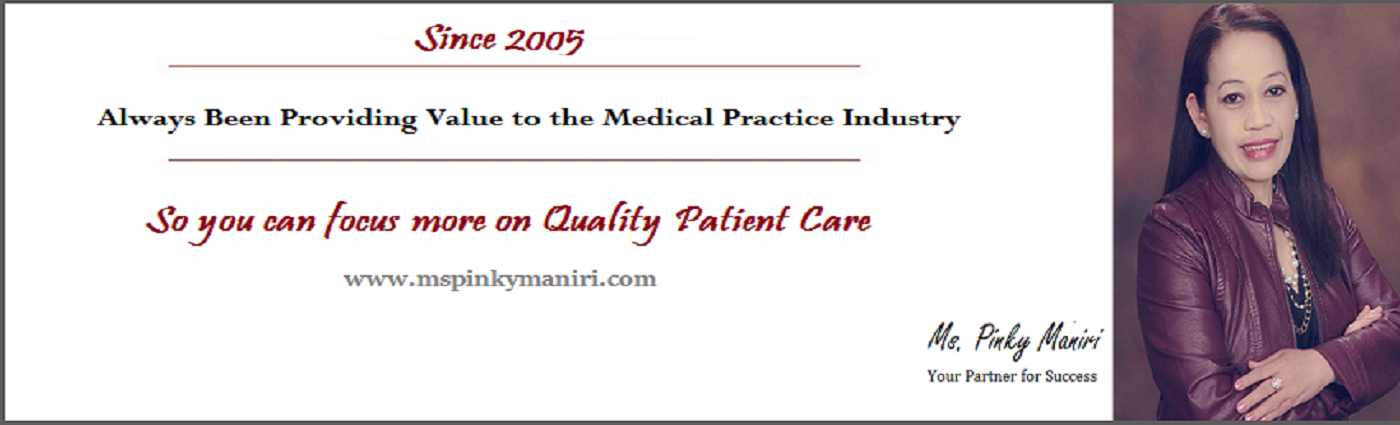 Ms. Pinky Maniri | Medical Practice Management Consulting Group